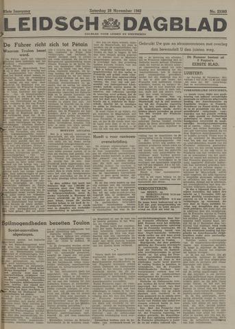 Leidsch Dagblad 1942-11-28