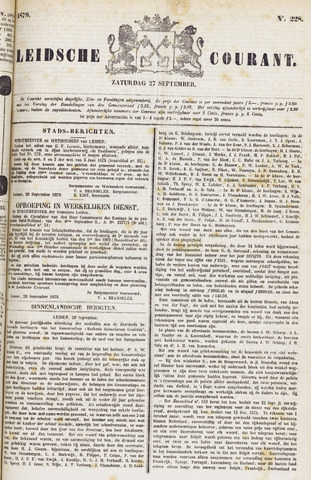 Leydse Courant 1879-09-27