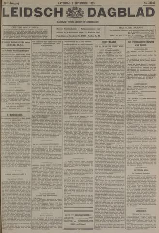 Leidsch Dagblad 1935-09-07