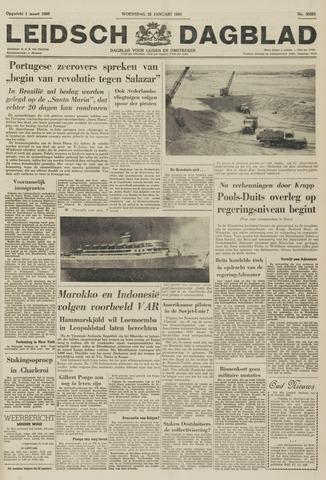 Leidsch Dagblad 1961-01-25