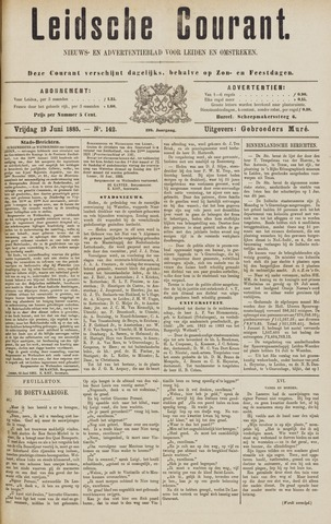 Leydse Courant 1885-06-19