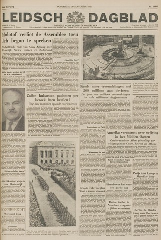 Leidsch Dagblad 1955-09-29