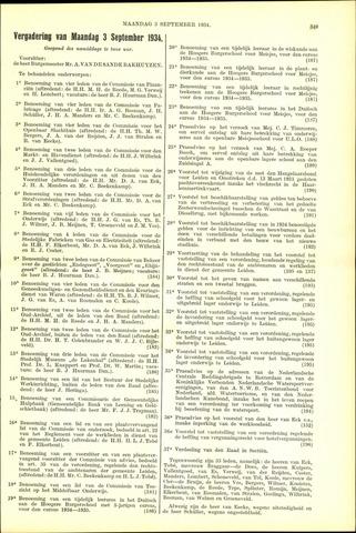 Handelingen van de Raad 1934-09-03
