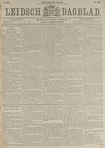 Leidsch Dagblad 1896-04-28