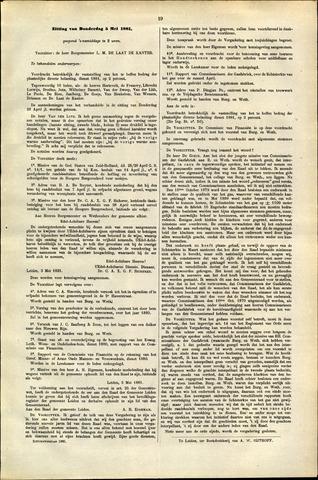 Handelingen van de Raad 1881-05-05