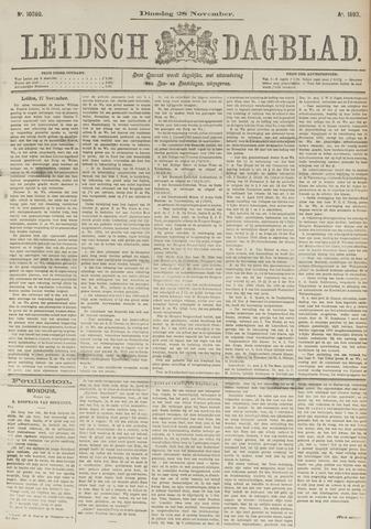 Leidsch Dagblad 1893-11-28