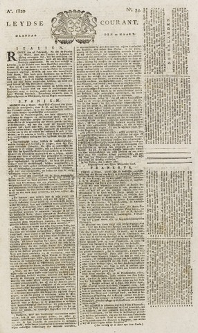 Leydse Courant 1820-03-20