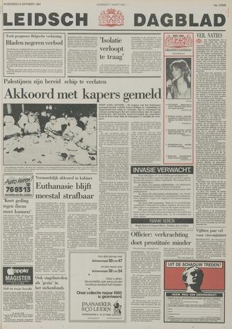 Leidsch Dagblad 1985-10-09