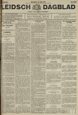 Leidsch Dagblad 1932-06-13
