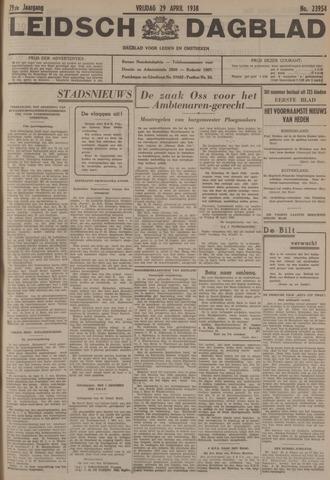 Leidsch Dagblad 1938-04-29