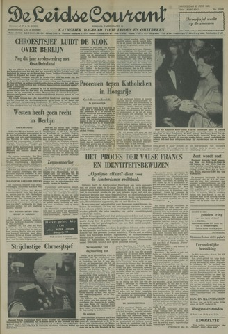 Leidse Courant 1961-06-22