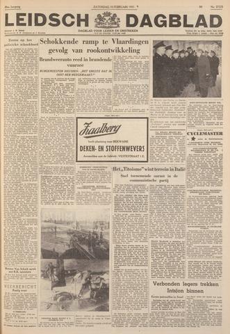 Leidsch Dagblad 1951-02-10