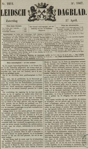 Leidsch Dagblad 1867-04-27