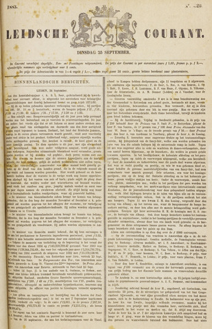 Leydse Courant 1883-09-25