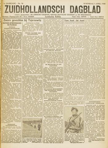 Zuidhollandsch Dagblad 1944-04-05
