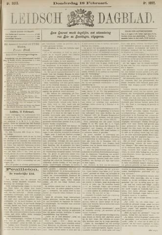 Leidsch Dagblad 1892-02-18