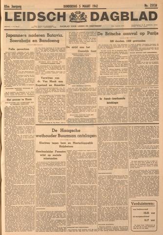 Leidsch Dagblad 1942-03-05