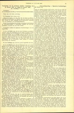 Handelingen van de Raad 1935-01-25