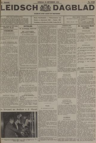 Leidsch Dagblad 1935-09-10