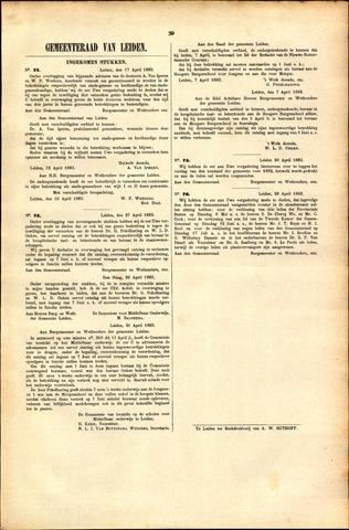 Handelingen van de Raad 1883-04-17