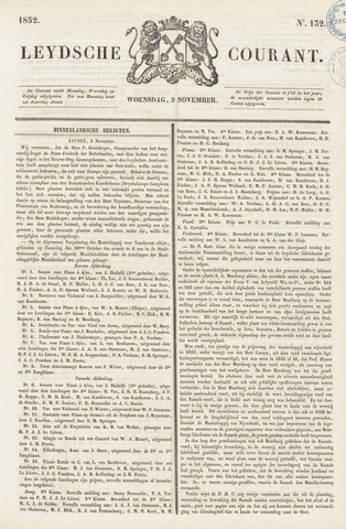 Leydse Courant 1852-11-03