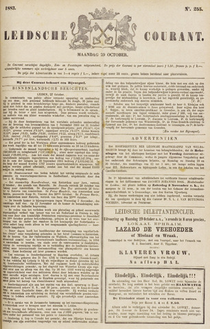 Leydse Courant 1883-10-29