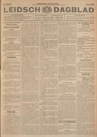 Leidsch Dagblad 1926-08-19