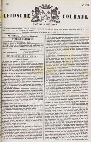 Leydse Courant 1882-09-11