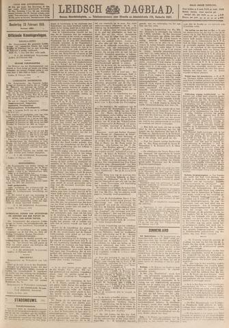 Leidsch Dagblad 1919-02-20