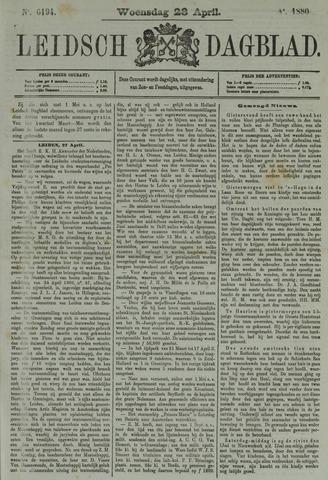 Leidsch Dagblad 1880-04-28