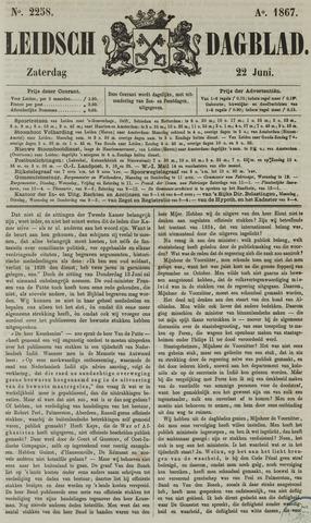 Leidsch Dagblad 1867-06-22