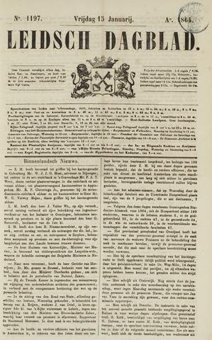 Leidsch Dagblad 1864-01-15