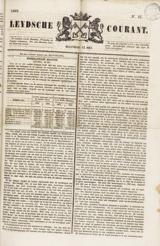 Leydse Courant 1862-05-12