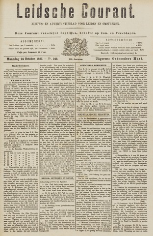 Leydse Courant 1887-10-24