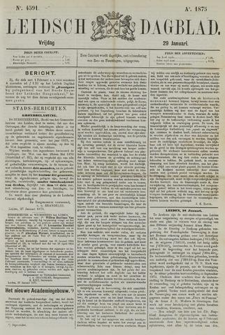 Leidsch Dagblad 1875-01-29
