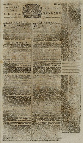 Leydse Courant 1811-11-29