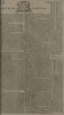 Leydse Courant 1743-07-12