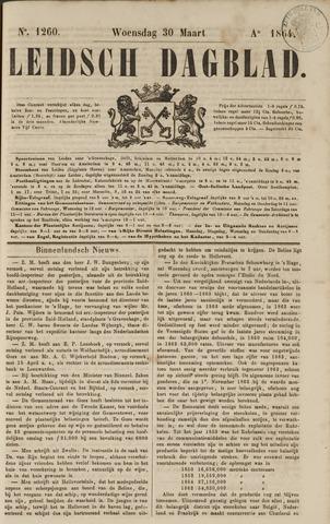 Leidsch Dagblad 1864-03-30