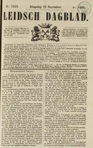 Leidsch Dagblad 1864-11-15