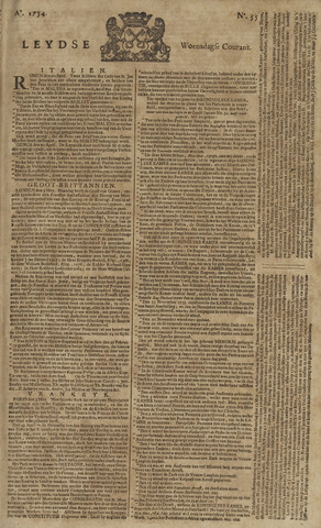 Leydse Courant 1754-05-08