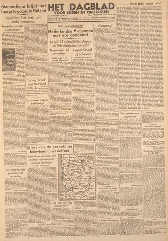 Dagblad voor Leiden en Omstreken 1944-08-02