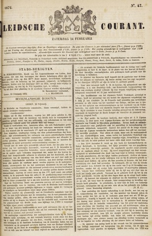 Leydse Courant 1872-02-24