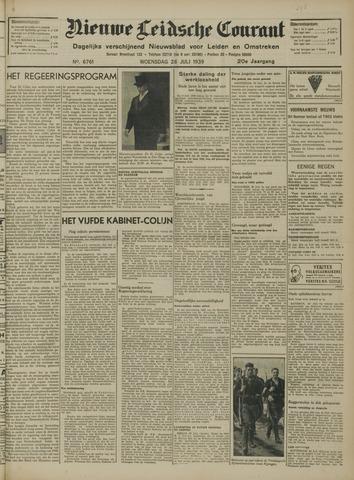 Nieuwe Leidsche Courant 1939-07-26