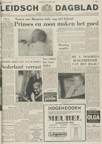 Leidsch Dagblad 1968-04-18