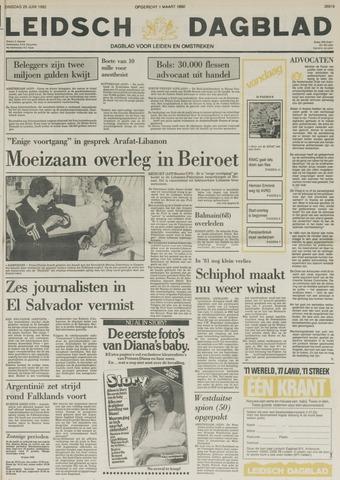 Leidsch Dagblad 1982-06-29