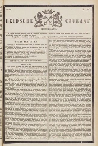 Leydse Courant 1884-06-24