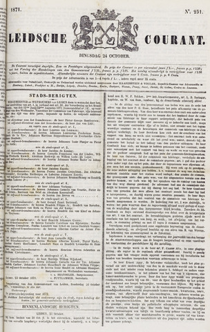 Leydse Courant 1871-10-24