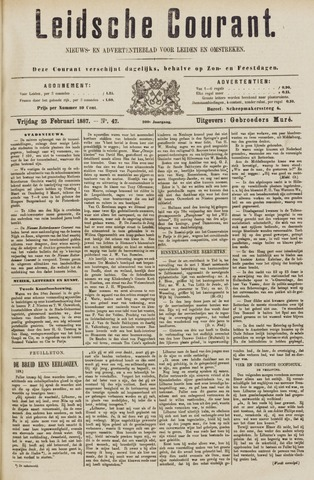 Leydse Courant 1887-02-25