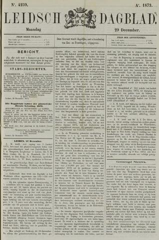 Leidsch Dagblad 1873-12-29