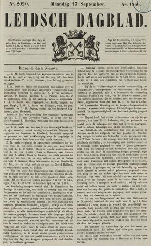 Leidsch Dagblad 1866-09-17